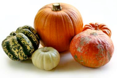 Several Varieties of Squash